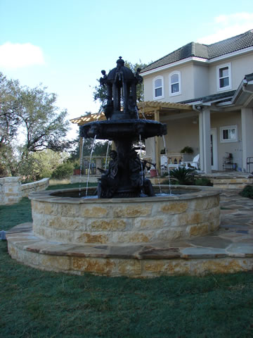 Newberry Landscape Fountain